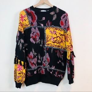 Anthropologie Sweaters - Anthropologie Laia Tabatha Patchwork Sweater